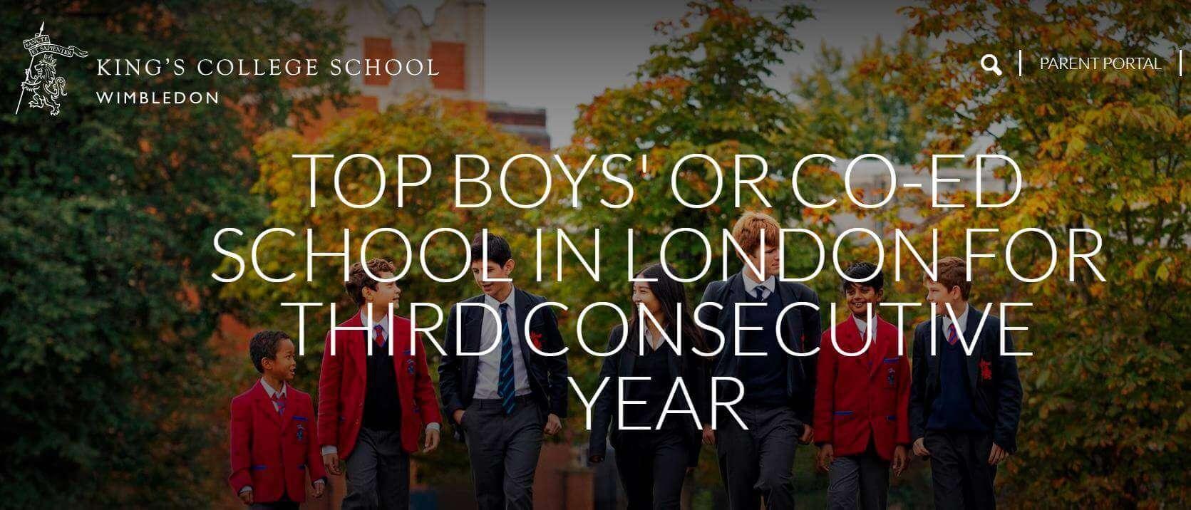 英國學校排名