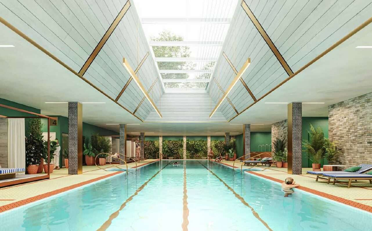 英國買房 游泳池