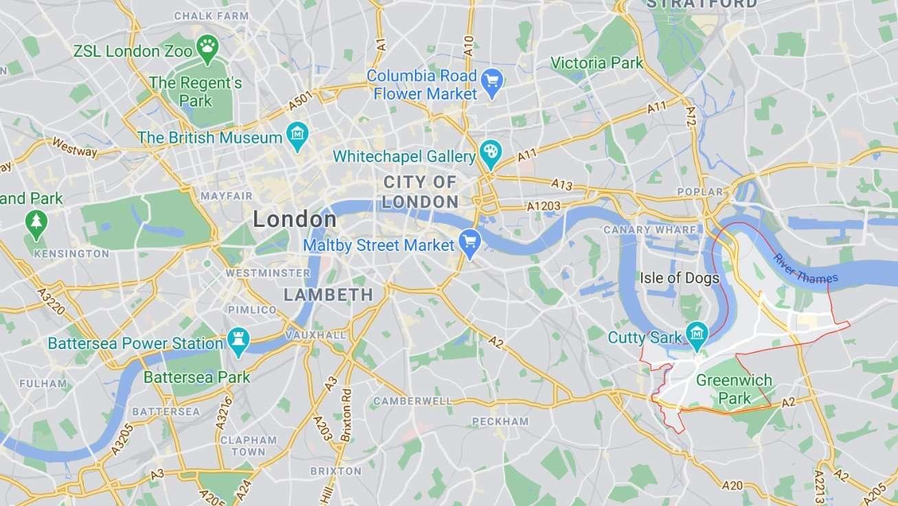 倫敦區域介紹