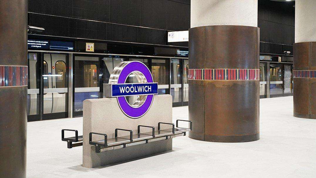 橫貫鐵路 Woolwich