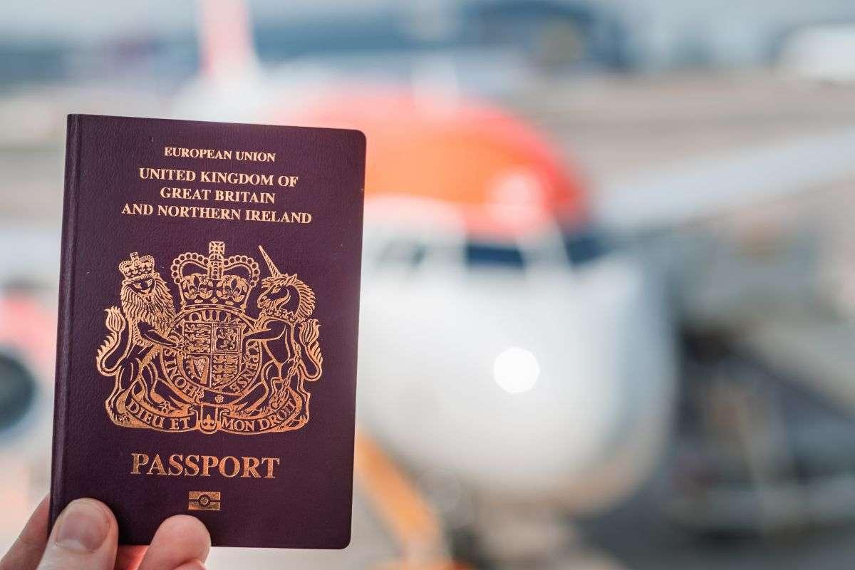 Travel UK Passport